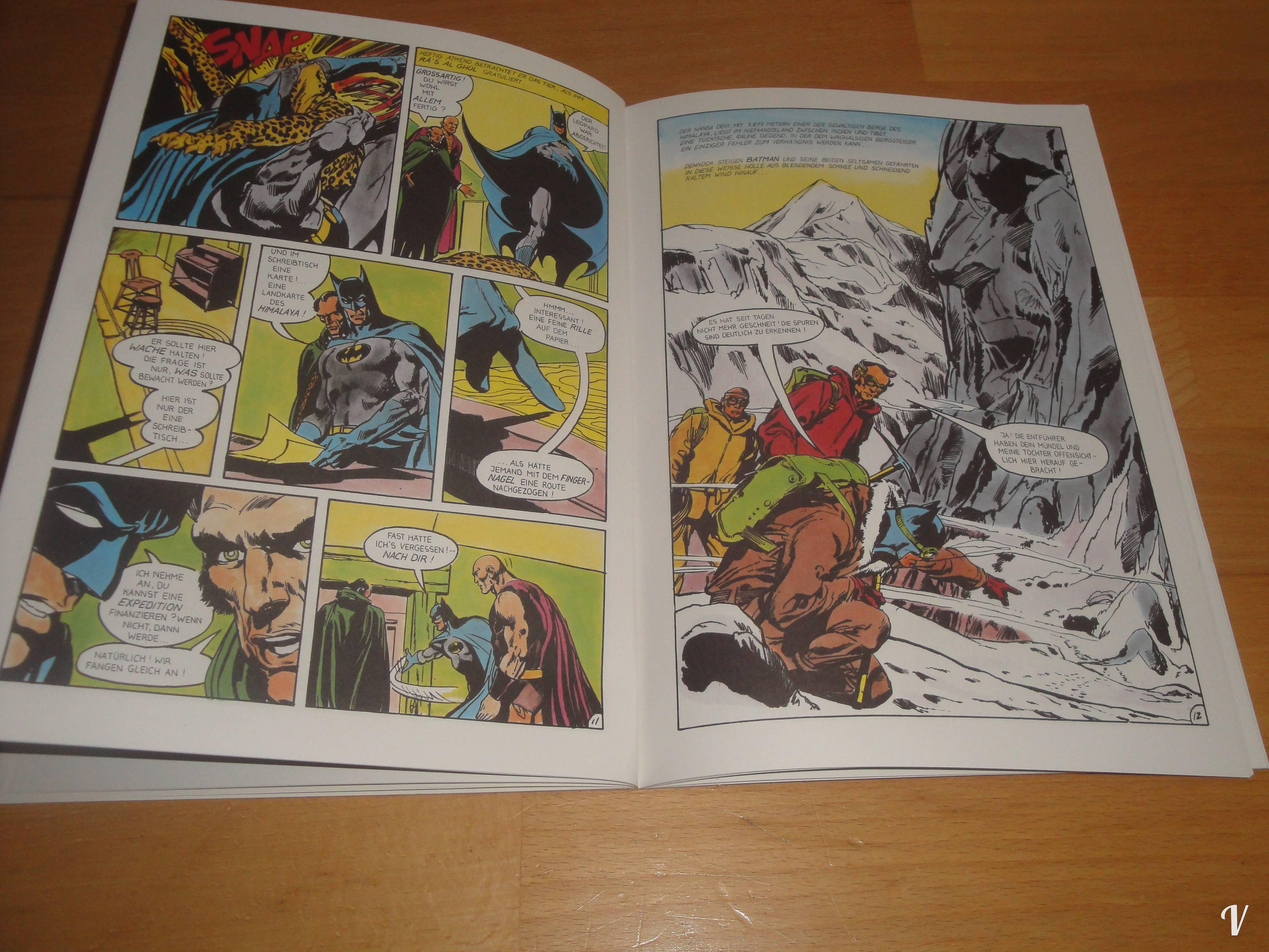 Comic] Batman Klassik - Die Sage von Ra\'s al Ghul [1] - Vincisblog
